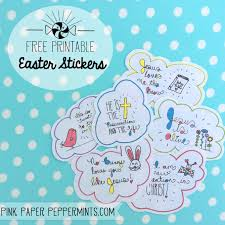 easter egg stuffers printable easter stickers last minute egg stuffers pink