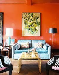 Best Paint It Orange Images On Pinterest Orange Walls - Orange living room design