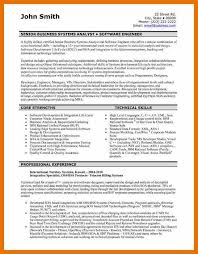 resume examples software engineer software developer resume
