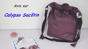 patron sac cuir gratuit review sac seau calypso patron youtube