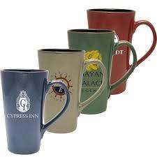 Ceramic Coffee Mugs Personalized Tall White Ceramic Mugs 16 Oz Coffee Mug Classic