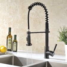 Tuscan Bronze Kitchen Faucet Double Handle Kitchen Sink Faucets Lowes In Oil Rubbed Finish For