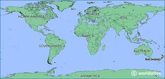zealand on map where is zealand where is zealand located in the