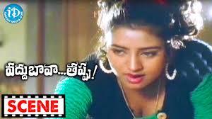 Salt In Coffee Vaddu Bava Thappu Movie Scenes Indraja Mixes Salt In Coffee For