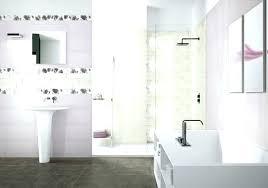 inexpensive bathroom tile ideas bathroom tile ideas on a budget ghanko