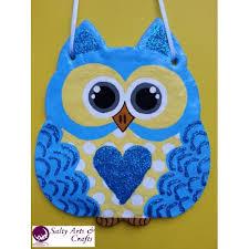 Owl Wall Decor by Decor Owl Wall Hanging Owl Wall Decor Blue Owl Decor Blue