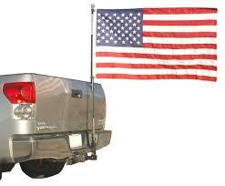 How Tall Is A Flag Pole Amazon Com Flag Pole To Go For Trucks Pole Mounts To Hitch