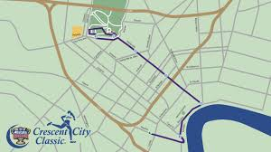 New Orleans Rta Map by Course Crescent City Classic Crescent City Classic