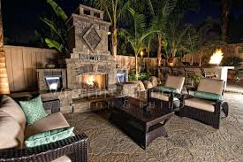 Paver Ideas For Backyard Backyard Pavers With Fire Pit Backyard Makeover With Pavers Full
