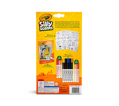amazon com crayola silly scents scented marker activity coloring