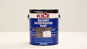 kilz masonry waterproofing paint youtube