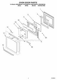 Replacement Oven Door Glass by Kitchenaid Kemc308kss0 Parts List And Diagram Ereplacementparts Com
