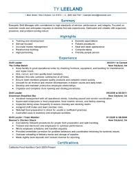 Professional Summary On Resume Examples by 11 Amazing Management Resume Examples Livecareer