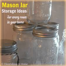 mason jar storage ideas for every room in your home u2013 at home with zan