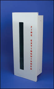 sonoma series fully recessed fire extinguisher cabinets