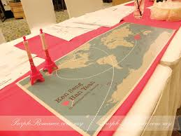 wedding backdrop kl travel theme wedding decoration mandarin kuala lumpur