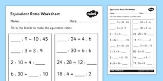 equivalent ratio worksheet equivalent ratios ratios ratios