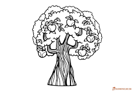 100 coloring pages trees christmas trees and bells coloring