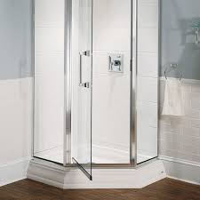 Bathroom Shower Bases Town Square 38 Inch By 38 Inch Neo Angle Shower Base American