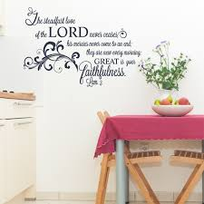 lamentations the steadfast love lord wall decal christian statements for walls decorate home with faith based scripture decals and applique stickers wall