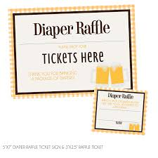 a baby is brewing baby is brewing raffle tickets sign kateogroup