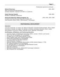 administrator for ancillary services resume