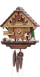 How To Wind A Cuckoo Clock Cuckoo Clock Black Forest House With Moving Wood Chopper And Mill
