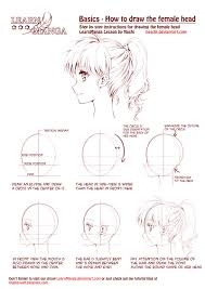learn manga how to draw the female head side by naschi on deviantart