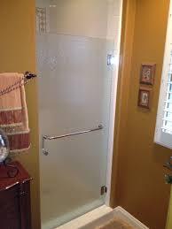 shower door new install 1 after alt angle sliding door repair