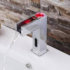 Led Bathroom Faucet by Thermostatic Led Faucet Promotion Shop For Promotional
