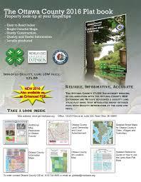 State Of Michigan Plat Maps by County Plat Book Ottawa Count Michigan