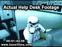 star wars help desk youtube