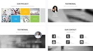 profile presentation template free powerpoint presentation