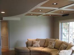 basement ceiling options and room arrangement home decor news