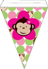 Mod Baby Shower by Monkeys Free Printable Mini Kit Baby Shower Printables