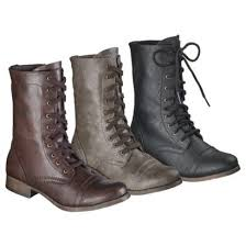 womens combat style boots target sandi pointe library of collections