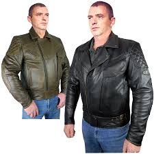 leather waistcoat biker men u0027s classic style leather motorcycle jackets