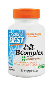 doctor u0027s best fully active b complex nutritional supplement 30