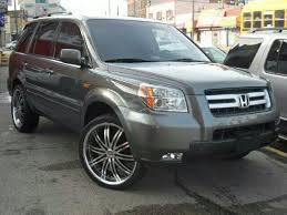pilot honda 2008 2008 honda pilot exl 4wd on 24 s that s so awesome