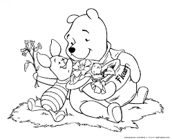 free winnie pooh coloring pages coloring pages