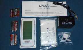 Thermostat For Gas Fireplace by Lennox Gas Fireplace Touch Screen Remote Thermostat H8865