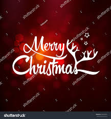 merry greeting card merry stock vector