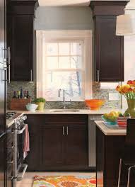kitchen paint colors with espresso cabinets espresso cabinets kitchen color schemes small page 1