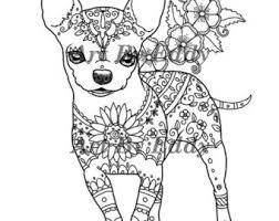 coloring pages chihuahua puppies drawn chihuahua coloring page 3285023