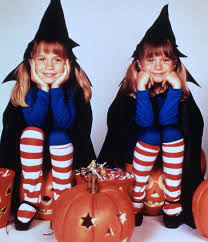 determined twins mary kate olsen ashley olsen try to trick an