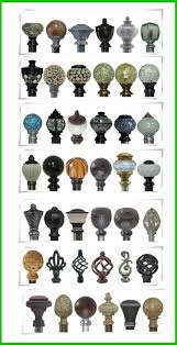 Metal Curtain Rods And Finials Finials For Curtain Rods U2013 Aidasmakeup Me