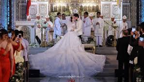 philippine actress bride fuming mad at groom over wedding cake