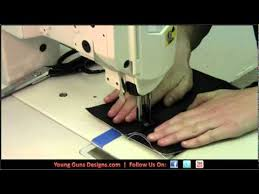 How To Sew Car Upholstery Young Guns Designs How To Sew A Single Reinforced Seam