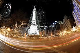 monument circle christmas lighting ceremony