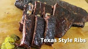 texas style ribs recipe for smoking ribs from malcom reed youtube